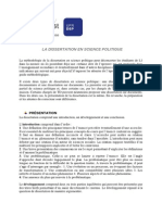 Science Politique Note Methodologique