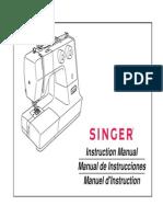 manual maquina singer