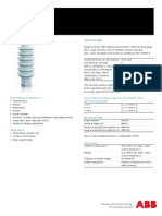 ABB Surge Arrester POLIM-S - Data Sheet 1HC0075857 E01 AB