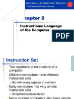 Dropbox - Chapter 2 Instructions Language of the Computer