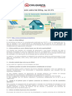 Informacion Net Billing - Chilquinta Energía