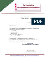 Extrait Demande d'Exclusion 2014