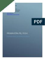 Oracle Primavera P6 Training Contents