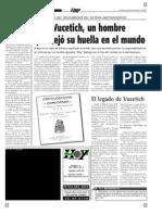 Juan Vucetich y Las Huellas Dactilares