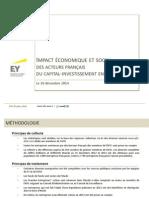 Afic Poids Economique Et Social Du Capital Investissement en 2013