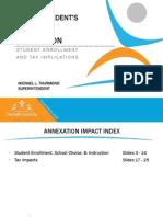 DeKalb County Schools Druid Hills Annexation Impact 2014