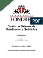 Diseño de Sistemas de Señalización y Señalética - UNIVERSIDAD de LONDRES