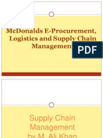 Mcdonaldse Procurement