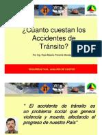Clasificacion de los accidentes viales y sus costos. Networkvial-Mexico
