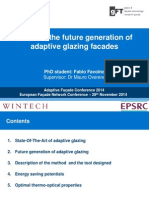 Towards the Future Generation of Adaptive Glazing Facades