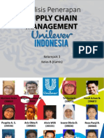 Penerapan Supply Chain Management UNILEVER INDONESIA