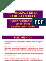 1.Aprendizaje de La Lengua Escrita