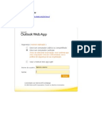 Acesso Ao Outlook Web App