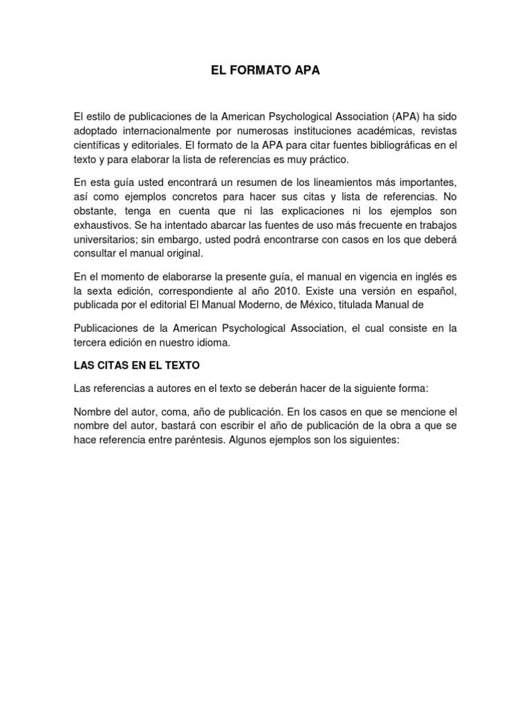 Cute Formato De Resumen Contemporary - Example Resume Templates ...
