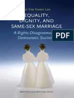 Equality, Dignity and Same-Sex Marriage
