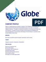 Company Profile Globe