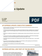 UP Express Update
