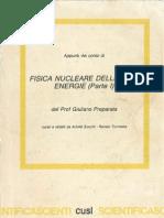 Fisica Nucleare Delle Alte Energie CISL Preparata