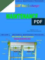 Air Cooler Maintenance