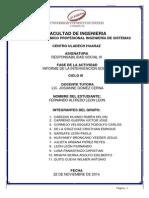 Informe de Intervencion Social 2014-2