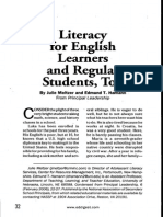 literacy for english learners and regular students too