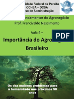 Aula 4 - Import. Do Agronegócio