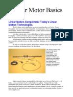 Linear Motor Article