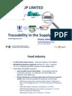 Traceability by FXA