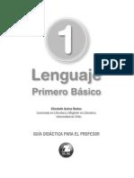 Texto Guia Lenguaje 1 Basico