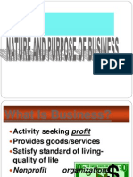 Nature and Purpose of Business 2