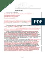 Draft do Grupo de Plataforma de Ação de Durban (versão de dia 9/12)