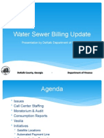 DeKalb County Water Billing Presentation