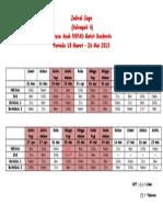 Jadwal Jaga Anak GS.doc