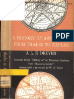 Dreyer History of Astronomy From Thales Kepler