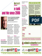 Join the NSSN leaflet