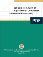 Technical Guidance on Audit of NBFC