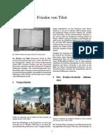 Napoleon und Frieden von Tilsit (Schaffung des Herzogtums Polen)