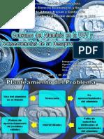 Consumo Del Aluminio en La UCV y Consecuencias