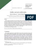 Galileo and Prior Philosophy