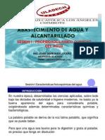 Sesion 1 - Caracteristicas Fisicoquimicas Del Agua