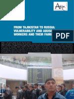 From Tajikistan to Russia