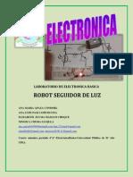 ROBOT SEGUIDOR DE LUZ