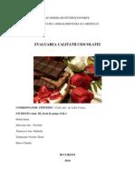 Evaluarea Calitatii Ciocolatei