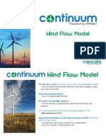 Continuum Wind Flow Model Booklet