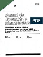 Manual Wheeldozer CAT 824 G