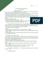 Evaluare Initiala Cl IX