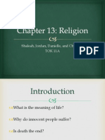 Chapter 13 Religion _ Jordan, Christina, Shaleah, Danielle