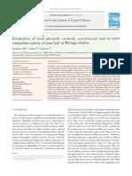 Estimation of Total Phenolic Content, Cytotoxicity and in–Vitro Antioxidant Activity of Stem Bark of Moringa Oleifera