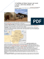 Nigeria 2500 Cattolici Uccisi
