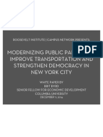 Modernizing Public Parking to Improve Transportation and Strengthen Democracy in New York City